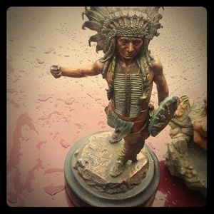 antique Indian statue